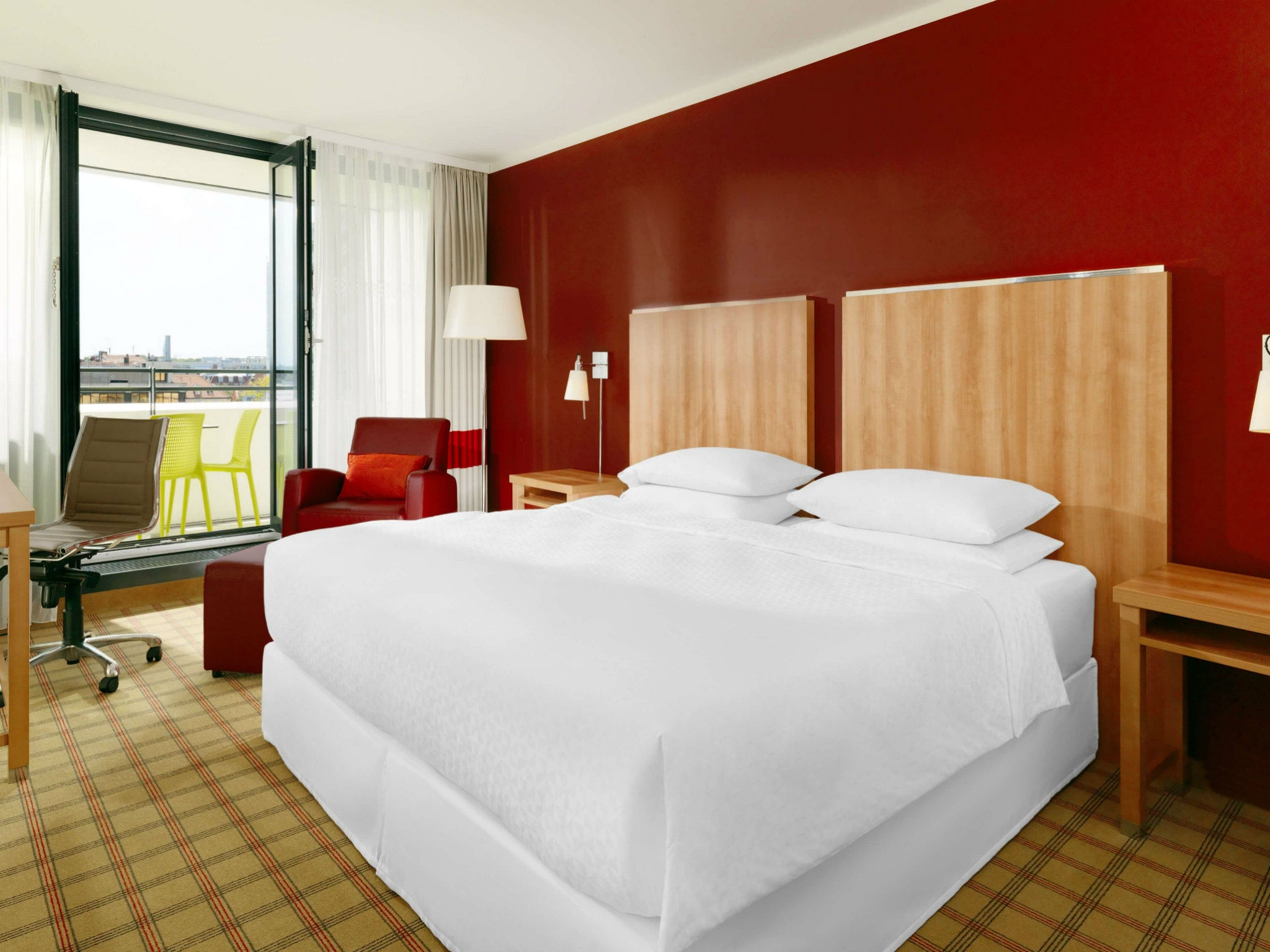Executive Hotelzimmer München - Four Points by Sheraton München Central